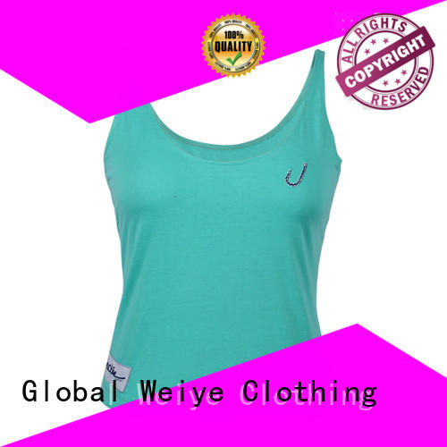 plain vest tops womens for ladies Global Weiye