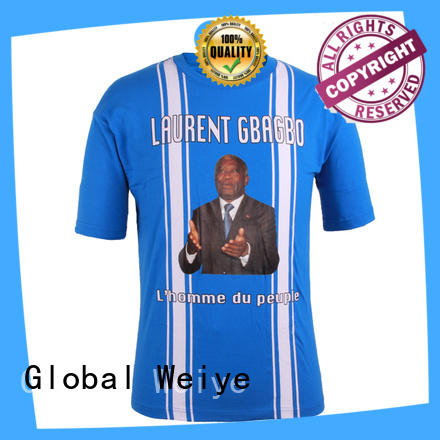 election campaign shirts designs for sale Global Weiye