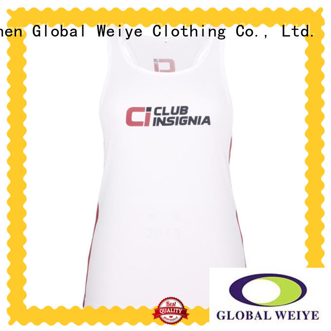 Global Weiye embroidery best tank tops for women wholesale