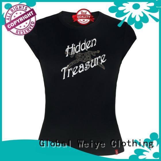 Global Weiye nice cute shirts for women print for ladies