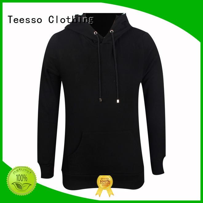 Teesso free plain hoodies sweatshirts for men