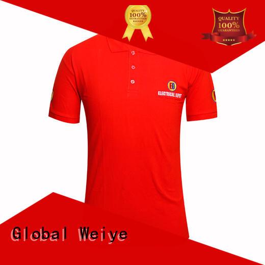 red polo shirt mens custom