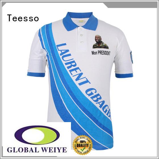 Teesso design vote t shirt nguesso for men