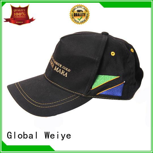Global Weiye customized cheap baseball caps new arrival wholesale