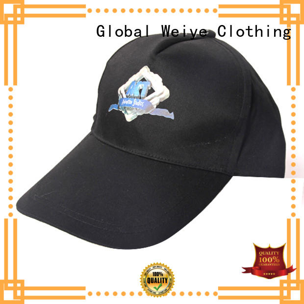 promotional sports cap embroidered wholesale Global Weiye