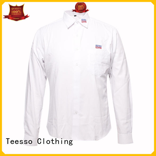 Teesso design work uniform shirts long sleeve for women