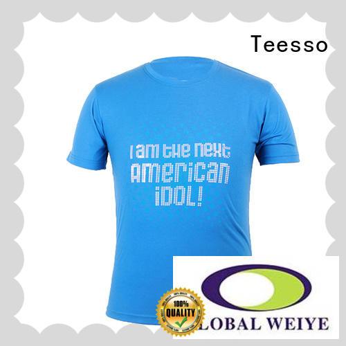 Teesso sticker custom printed tees company for ladies