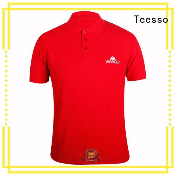 Teesso mens designer polo shirts short