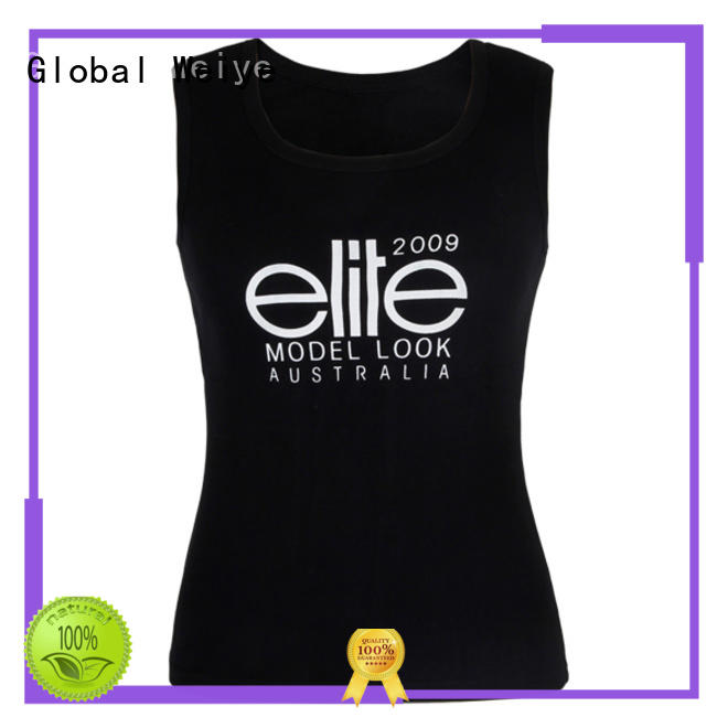 v neck ladies cotton tank tops stringer for ladies Global Weiye