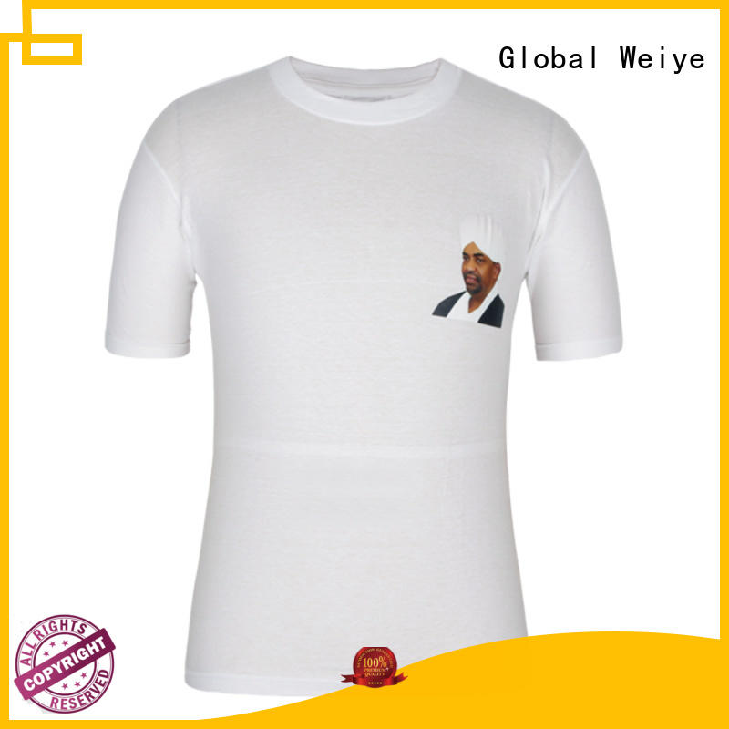 Global Weiye colorful campaign shirts nguesso for women