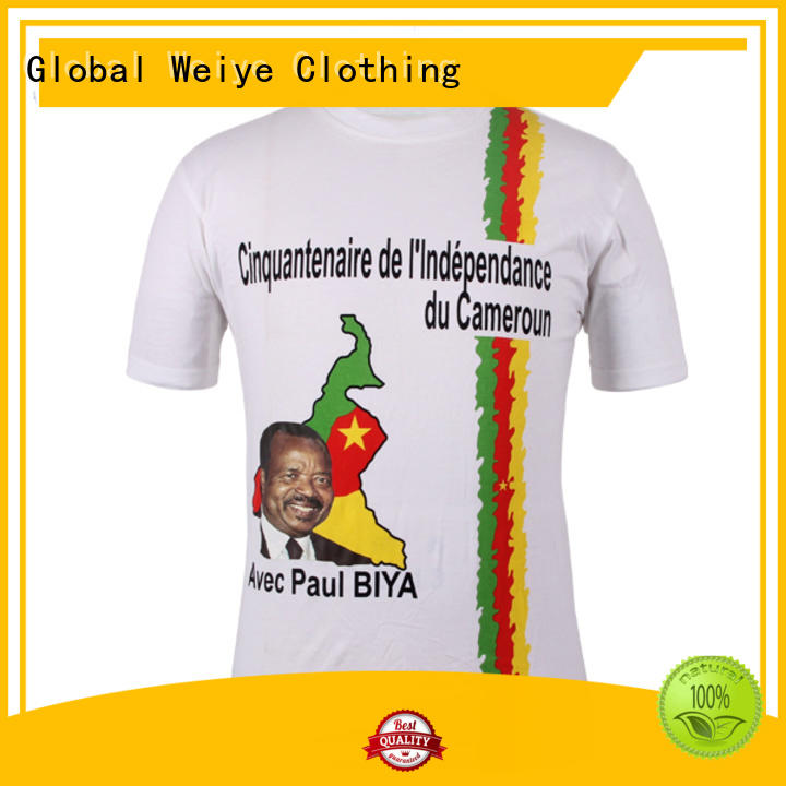 Global Weiye presidential funny election shirts sassou for men