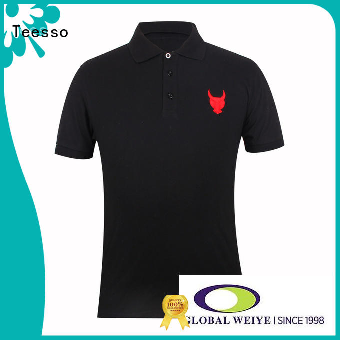 Teesso style mens slim fit polo shirts sleeve from china
