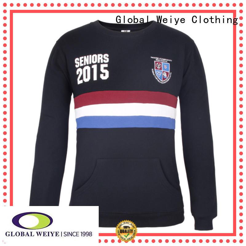 Global Weiye top sweatshirts oem for sale