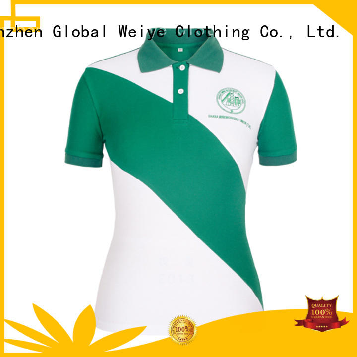 Wholesale shirt ladies polo t shirts Global Weiye Brand