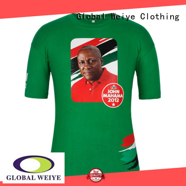 Global Weiye campaign shirts sleeve for men