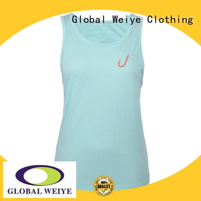 hot sale plain tank tops womens latest for advertising Global Weiye