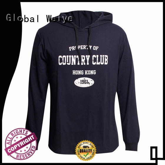 Global Weiye new hoodie fashion design your own logo wholesale