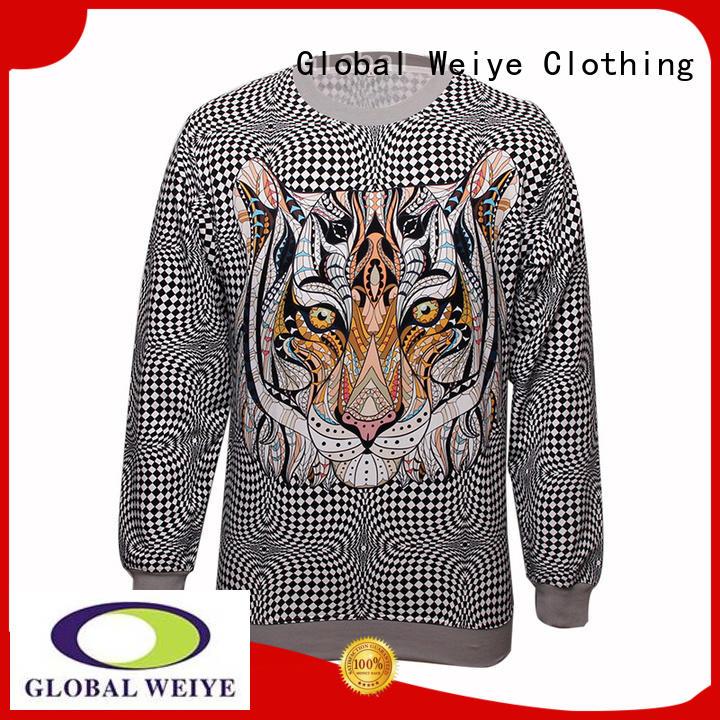Global Weiye pullover sweatshirt shirt for sale