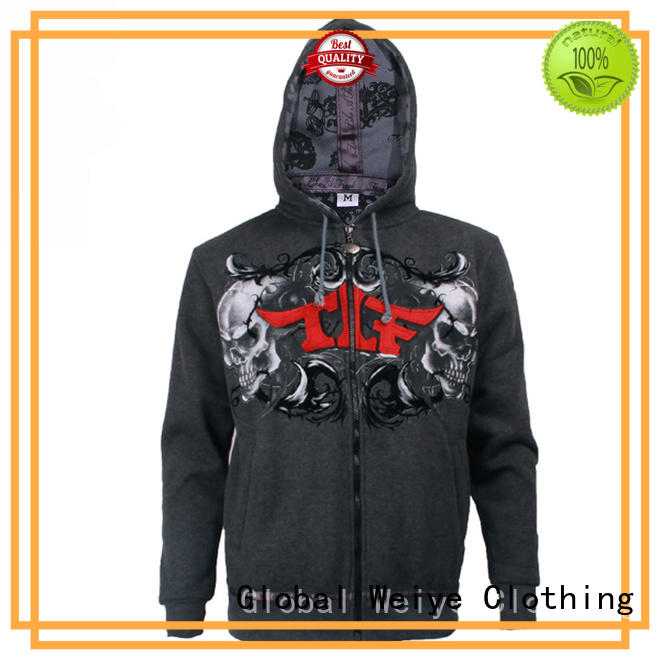 Global Weiye men's graphic zip up hoodies hoodies for women
