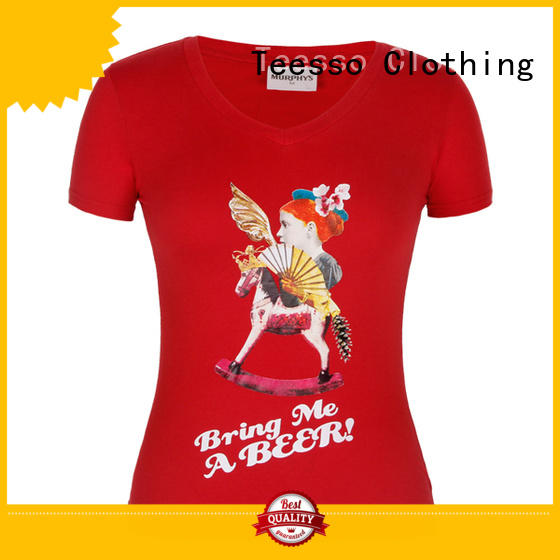 Teesso basic t shirts women's suppliers for event