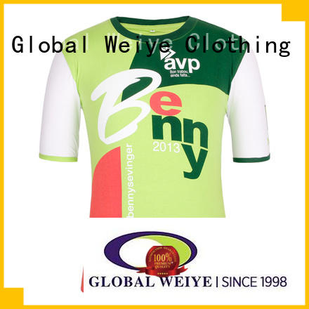 Global Weiye party tshirts printed design for ladies