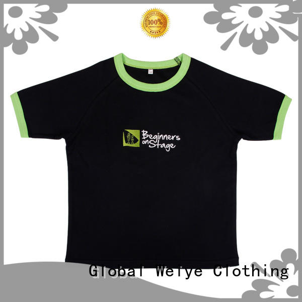 Global Weiye cool cool kids t shirts online for children