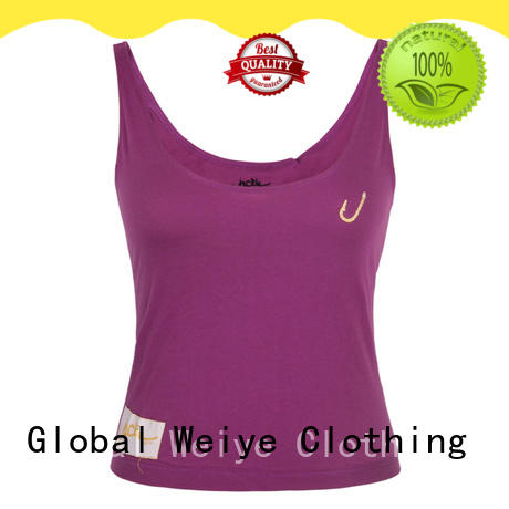 Global Weiye cotton womens tank wholesale