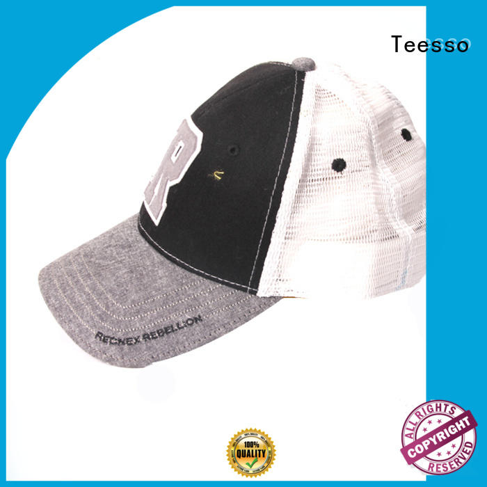 Teesso customized cap hat new arrival for men