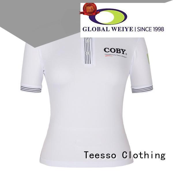 Teesso customized womens polo bulk for sale