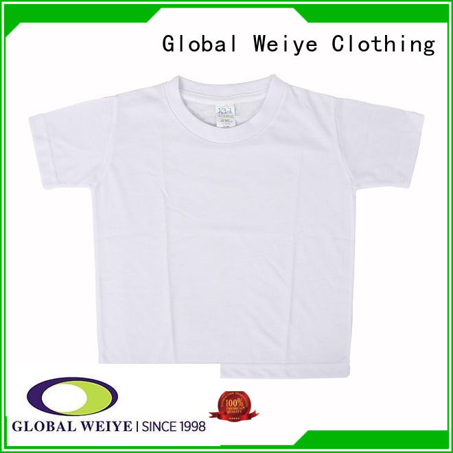 Global Weiye design cool t shirts for boys polyester for girls