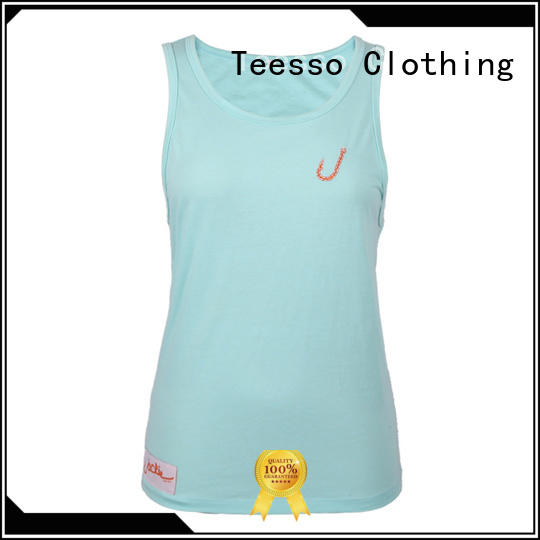 Teesso low cut tank tops womens design for advertising