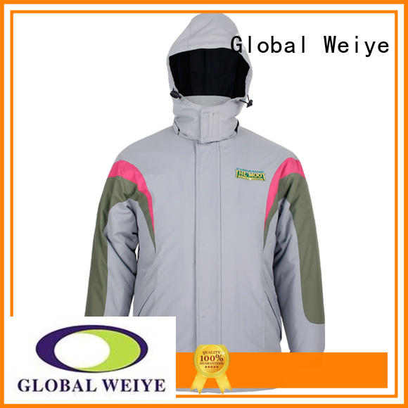 Global Weiye designed olive denim jacket fleece wholesale