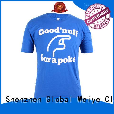 Global Weiye multi colour best mens t shirts handsome for men