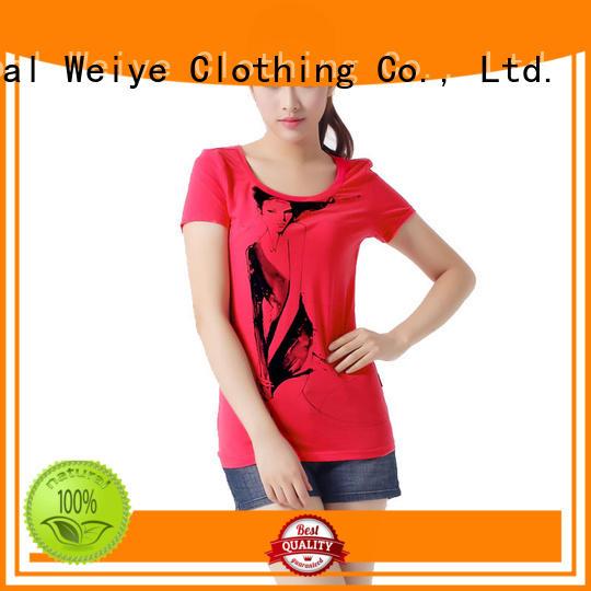 cool women's t shirts high quality for girls Global Weiye