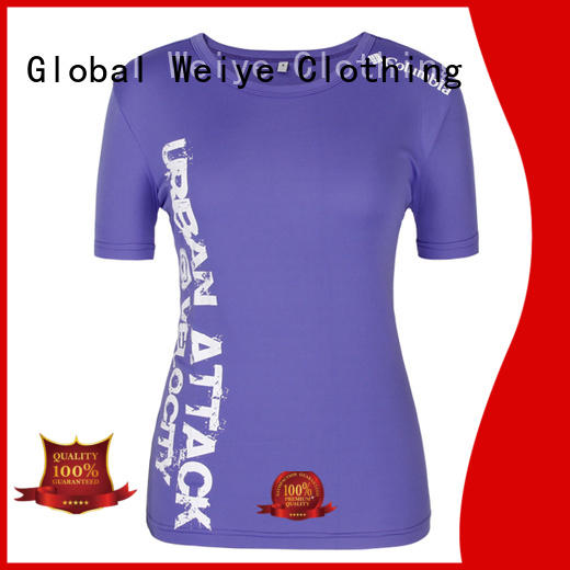 Global Weiye olive t shirt womens hot sale for ladies