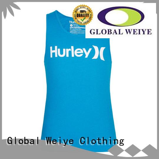 printing mens casual tank tops bodybuilding for guys Global Weiye
