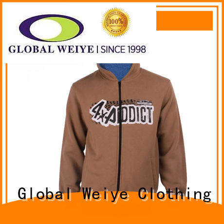 hooded sweatshirt jacket for men Global Weiye