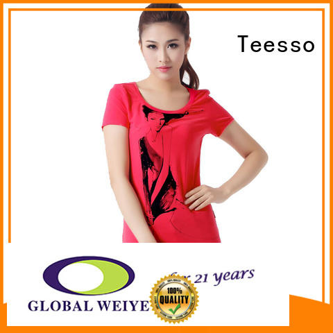 Teesso customized cute shirts for women for business for girls