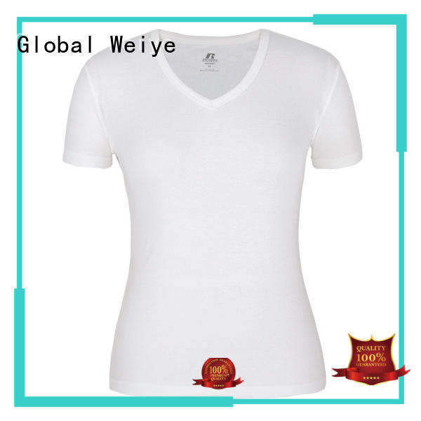 hot sale v neck t shirts women designed for ladies Global Weiye