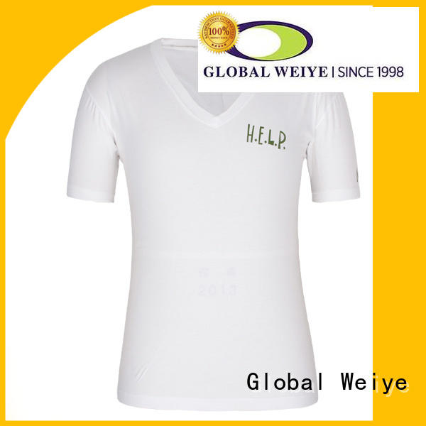 Global Weiye hot sale latest fashion t shirts mens design for party