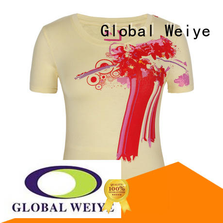 printed t shirts for women designed for promotion Global Weiye