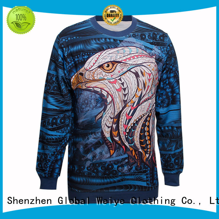 Global Weiye cool best sweatshirts hood for men