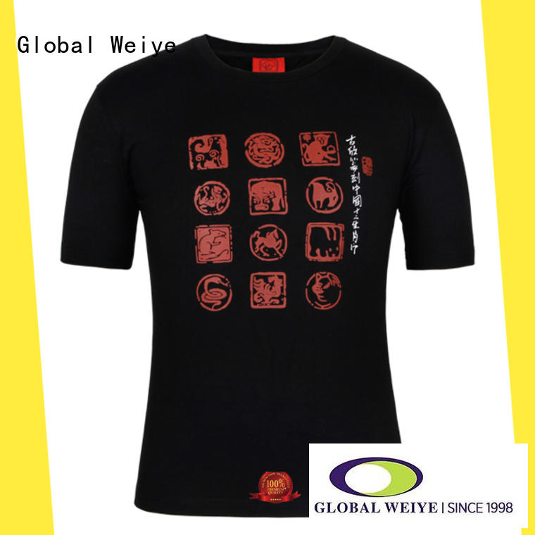 Global Weiye printed shirts online fashion for children