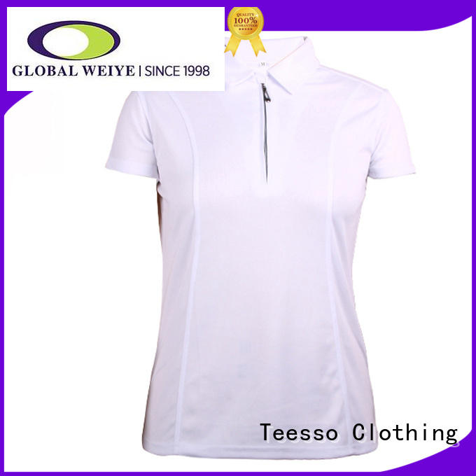Teesso colored womens polo bulk for ladies