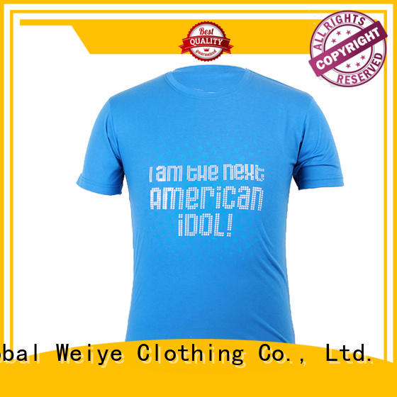 colorful mens tees handsome for festival Global Weiye