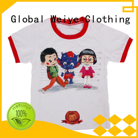 Global Weiye animal cool shirts for boys contrast for girls