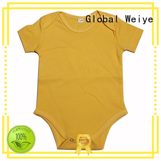 Global Weiye summer children's rompers with envelope neck for sale