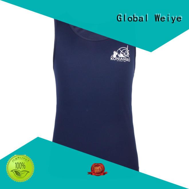 cool short sleeve basketball jersey sleeveless wholesale Global Weiye