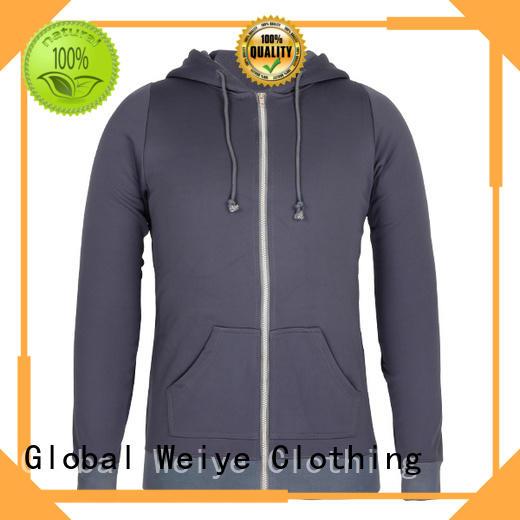 mens zip up sweatshirt wholesale Global Weiye