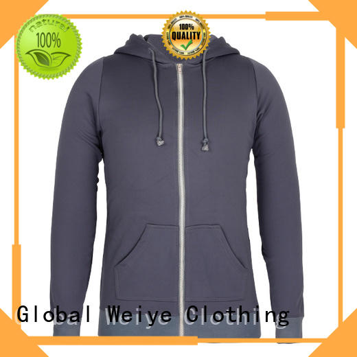 mens zip up sweatshirt wholesale Global Weiye
